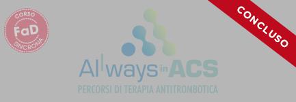 1 - ALLways in ACS - percorsi di terapia antitrombotica