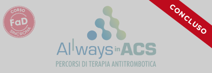 4 -ALLways in ACS – percorsi di terapia antitrombotica